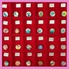 Click-Button Glas-Cabochons 18 mm